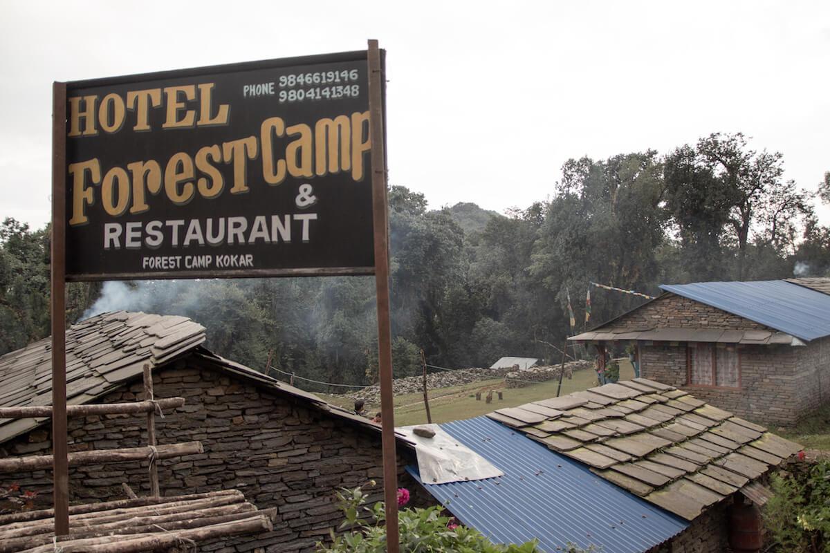 Mardi Himal Tea house