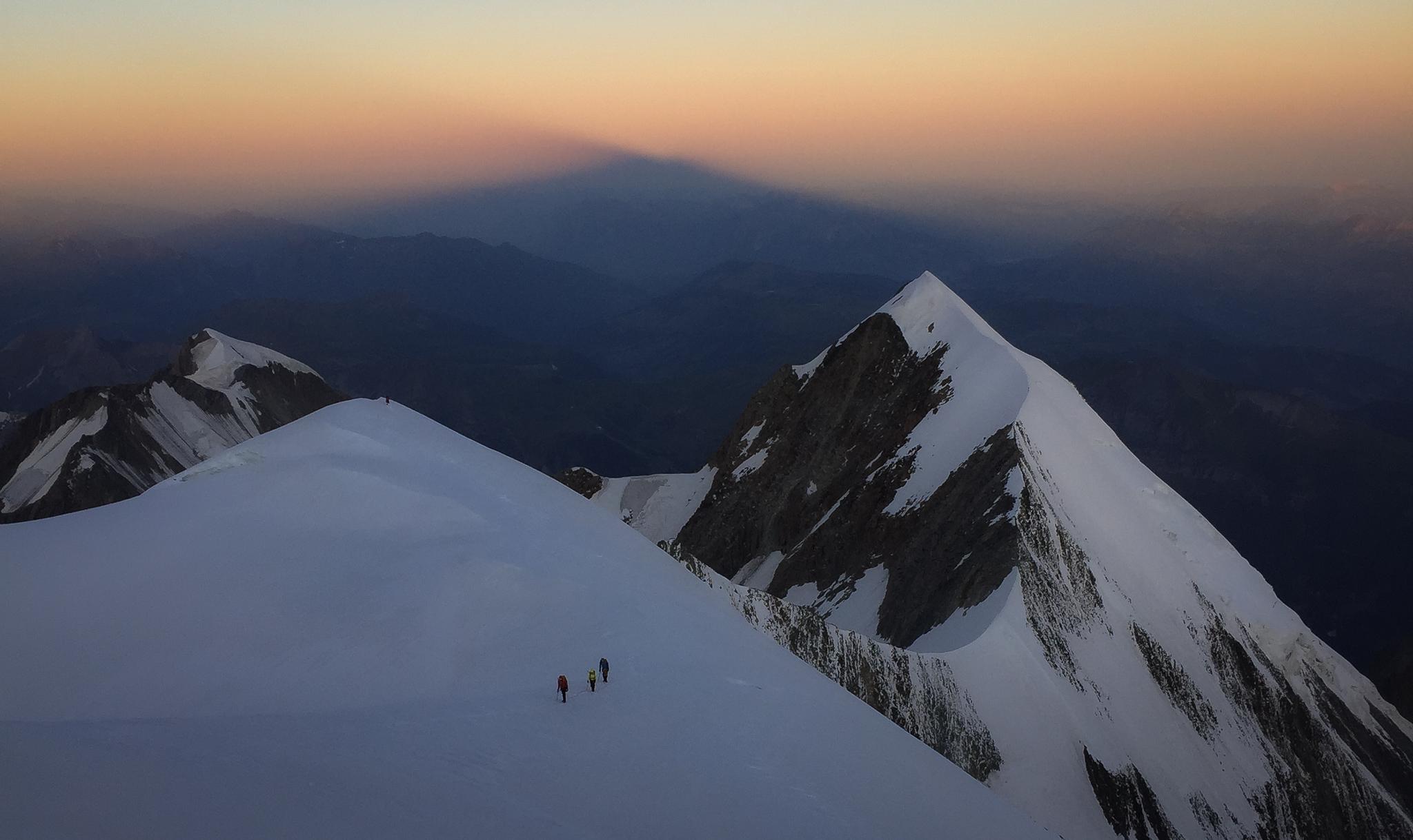 Approaching Glacier