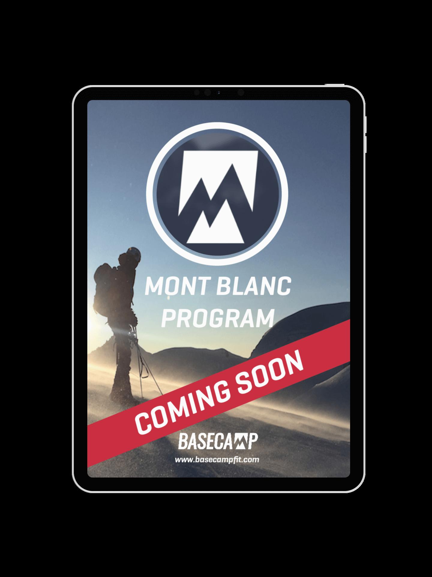 Mont Blanc Training