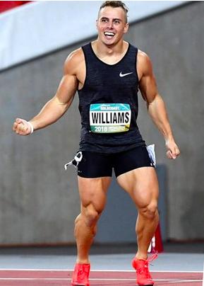 athlete Trae Williams