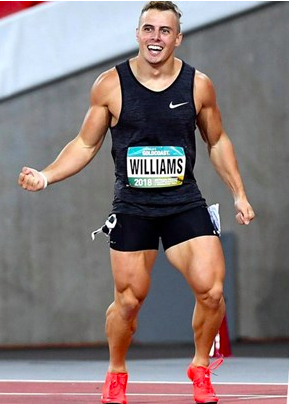 athlete Trae Williams